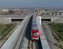 Orange Line Project in Pakistan