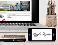 """Сайт для студии дизайна интерьра  """"Азбука Дизайна"""""""