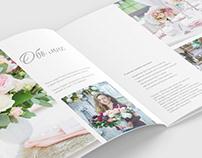 Booklet for decorator-florist