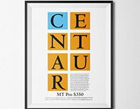 Centaur Font Ad
