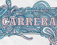 Carrera t-shirt design