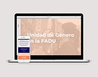 Web | Unidad de género