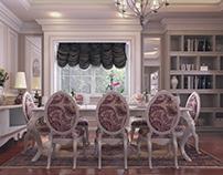 Villa Reception design (Dyara Park in egypt)