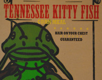Tennessee Kitty Fish Poster