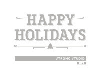 Strong Studio 2011 Holiday Card