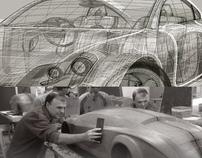 Representação tridimensional no design de transportes