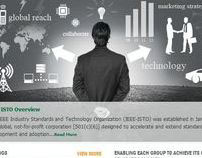 IEEE-ISTO Website Redesign