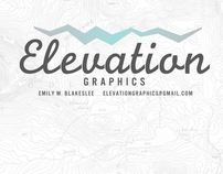 Elevation Graphics Identity (in progress)
