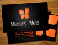 Cartão de visitas - Marcus Melo
