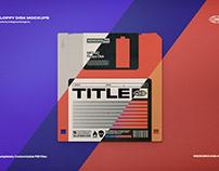 Floppy Disk MockupsDesigned byIndieground Design