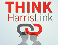 Think HarrisLink Employee Intranet Campaign