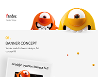 Yandex Online Banner Concept