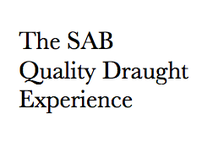 The SAB Quality Draught Experience