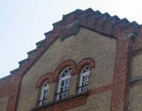 renovatie pakhuis tot appartement en kantoor Antwerpen