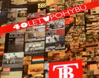 Publikace 40 let v pohybu Techniky Brno