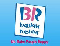 Baskin Robbins Website Design