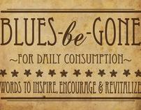 Blues-be-Gone - Inspiration Jar