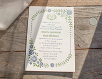 Wedding Invitations, etc