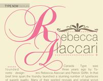 Rebecca Alaccari: A Typographic Interview
