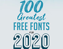 100 Fonts - Free Download