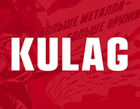KULAG — free display typeface