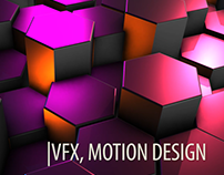 Motion Design, Abstract Backgrounds. Short Video.