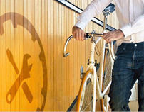 Webdesign and photography for bicycle brand