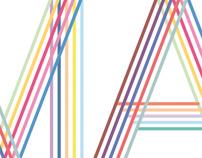 MA monogram