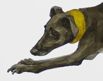 Watercolors Dog