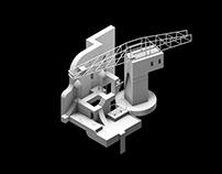 Nantes City isometric animation