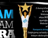 NIE BIEGAM  - kampania - webstar creative 2011
