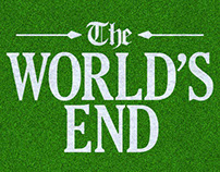 The World's End Alt Movie Poster