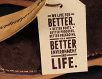 Timberland® Sustainable Shoebox