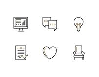 LuxDeco Icon Set