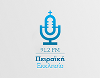 Radio 'Church of Piraeus' Logo Redesign