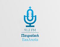 Radio 'Church of Piraeus' Logo Redesign