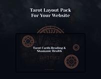 Tarot Reading Web Design