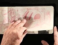 Mab's sketchbook 2016