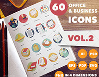 Office & Business Icons Vol.II