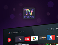 «TV Mosaic». Application for Android TV