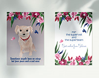 Greeting Cards with Custom Watercolor Sketches