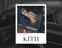 KITH — e-commerce website redesign
