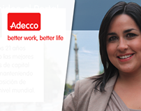 Adecco website redesign