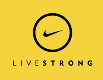 Nike Livestrong brand identity
