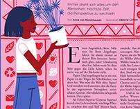 Editorial Illustration for Zeit Wissen