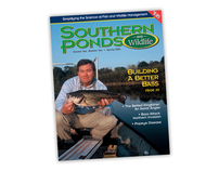 Cover Design for Southern Ponds and Wildlife Magazine