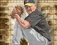 Baseball Illustration