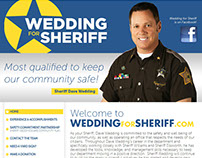 Wedding for Sherriff Identity & Website