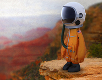Angels & Airwaves Limited Edition Astronaut Collectable