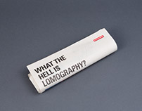 What the Hell is Lomography Newspaper